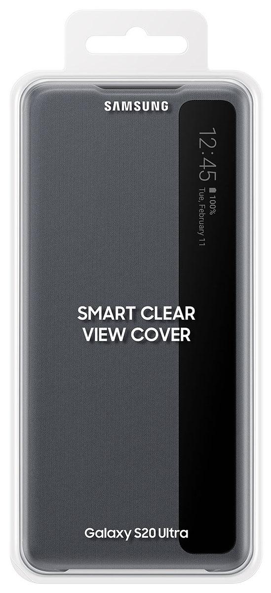 Capa Protetora Original Samsung Clear View Galaxy S20 Ultra SM-G988