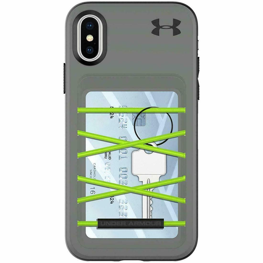 Capa Protetora Under Armour iPhone X e XS 2017 Porta-Cartão