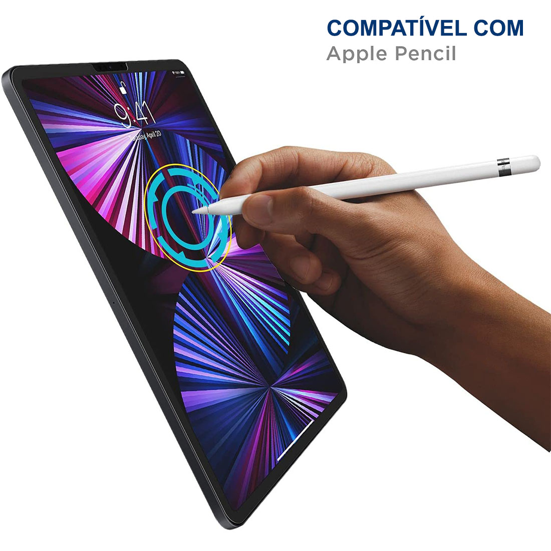 """Kit 10 Películas De Vidro Temperado iPad Pro 11"""" (2021) A2301 A2377 A2459"""