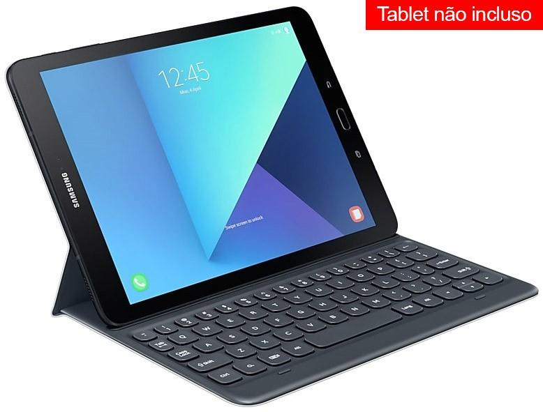 Original Capa Teclado p/ Samsung Galaxy Tab S3 9.7 T820 T825 - Tablet não incluso