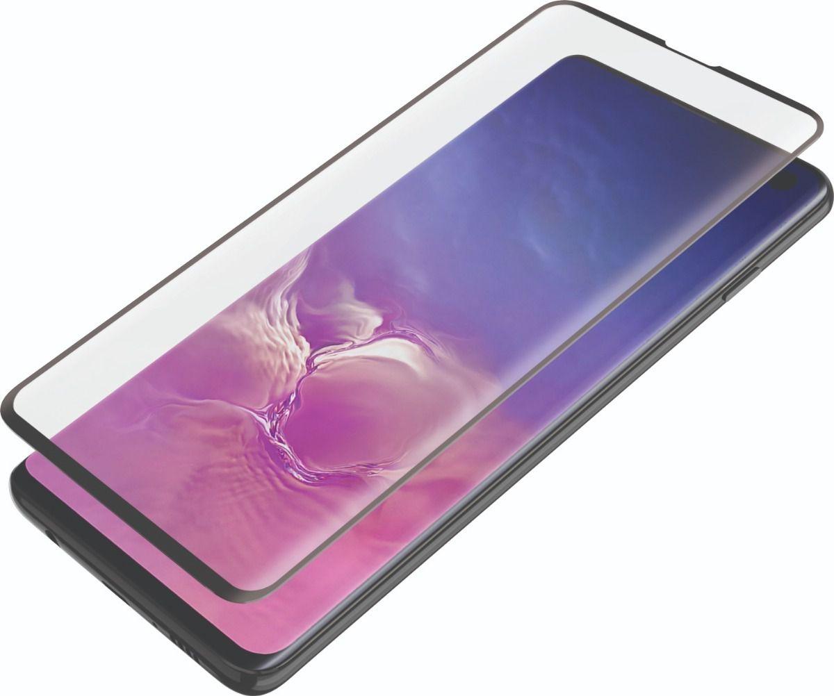 Película de Gel para Samsung Galaxy Note 10 plus N975 Com Borda Preta