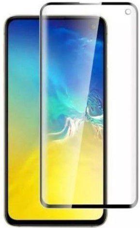 Película de Gel Samsung Galaxy S10 Plus G975 Com Borda Preta