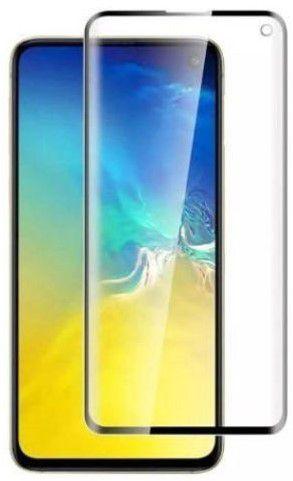 Película de Gel Samsung Galaxy S10E G970 Com Borda Preta