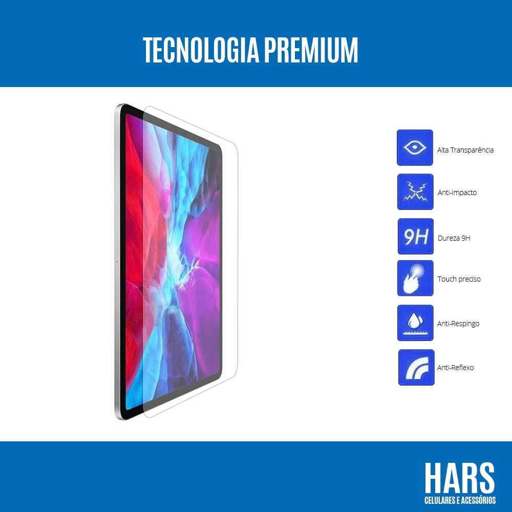 "Película de Vidro Clear Temperado iPad Pro 12.9"" (2020) A2232 A2229 A2069"