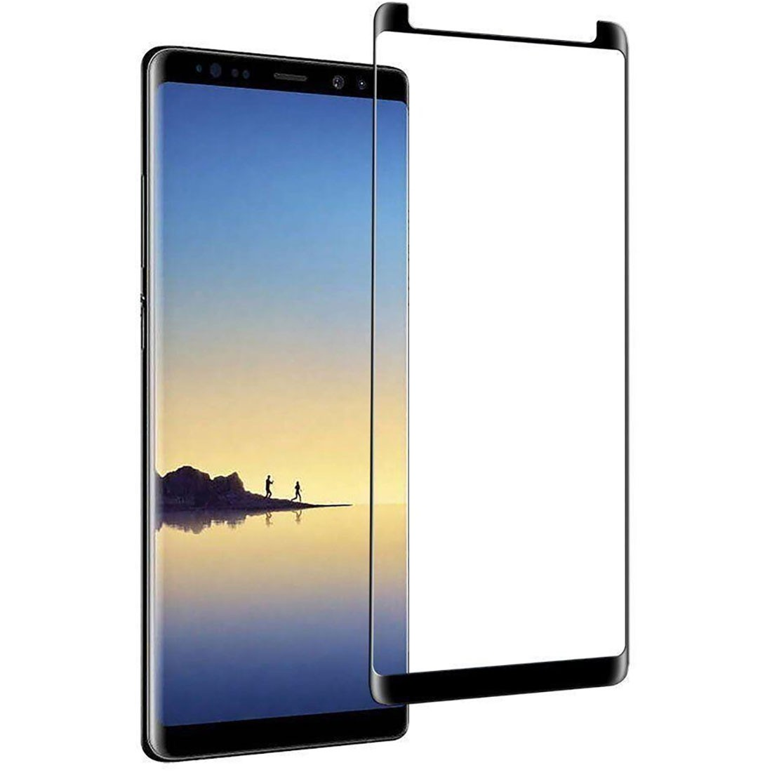 Película De Vidro Curva Galaxy Note 9 Cola Na Tela Toda N960