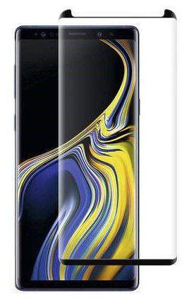Película De Vidro Curva para Samsung Galaxy Note 9 N960 Cola Na Tela Toda