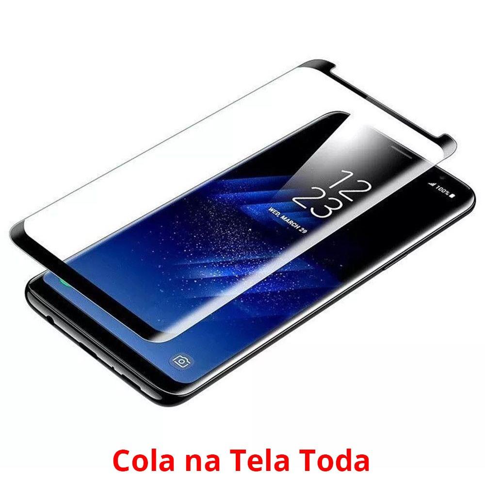 Película De Vidro Curva S8 G950 Cola A Tela Inteira