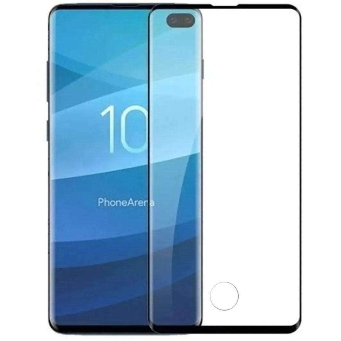 Película de Vidro Curva Samsung Galaxy S10 Plus 6.4 pol SM-G975
