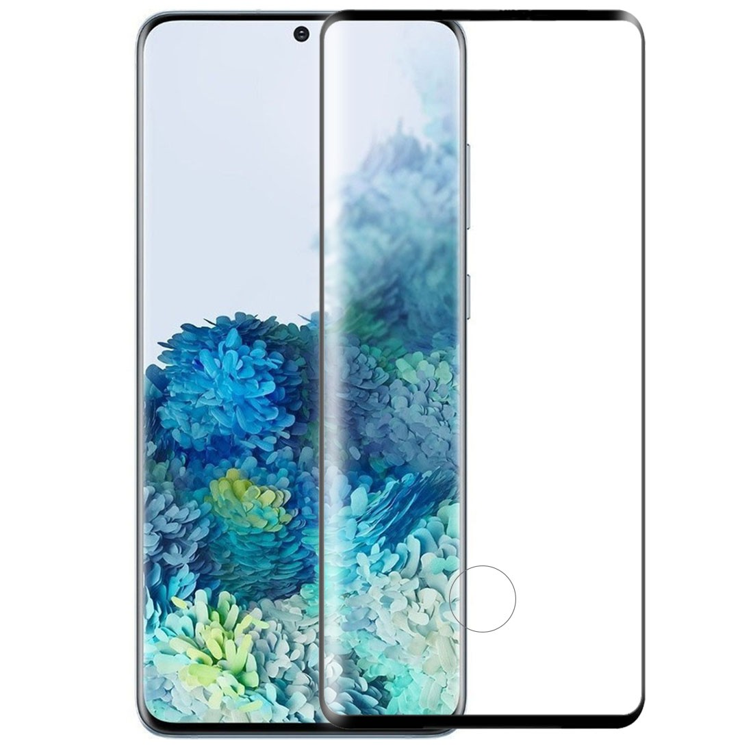 Película de Vidro Curva Samsung Galaxy S20 Plus 6.7 pol SM-G985