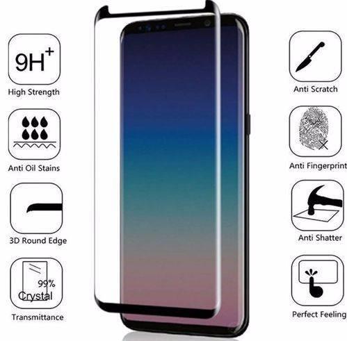 Película De Vidro Curva Samsung Galaxy S9 Plus G965 6.2 pol