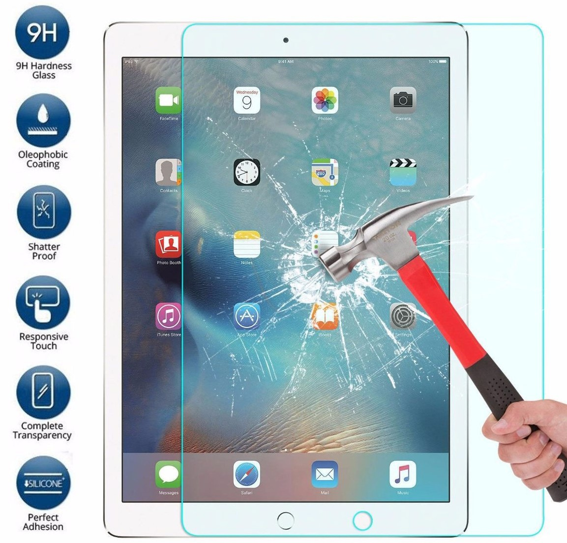 Película De Vidro iPad Pro 2017 10.5 Pol A1701 A1709