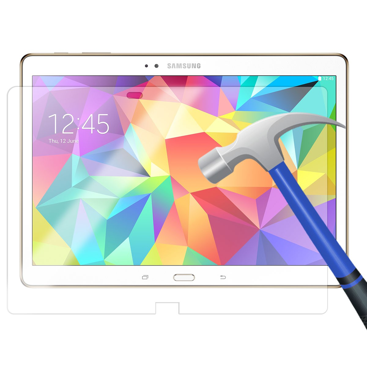 Película de Vidro Premium Samsung Galaxy Tab S 10.5 T800 T805