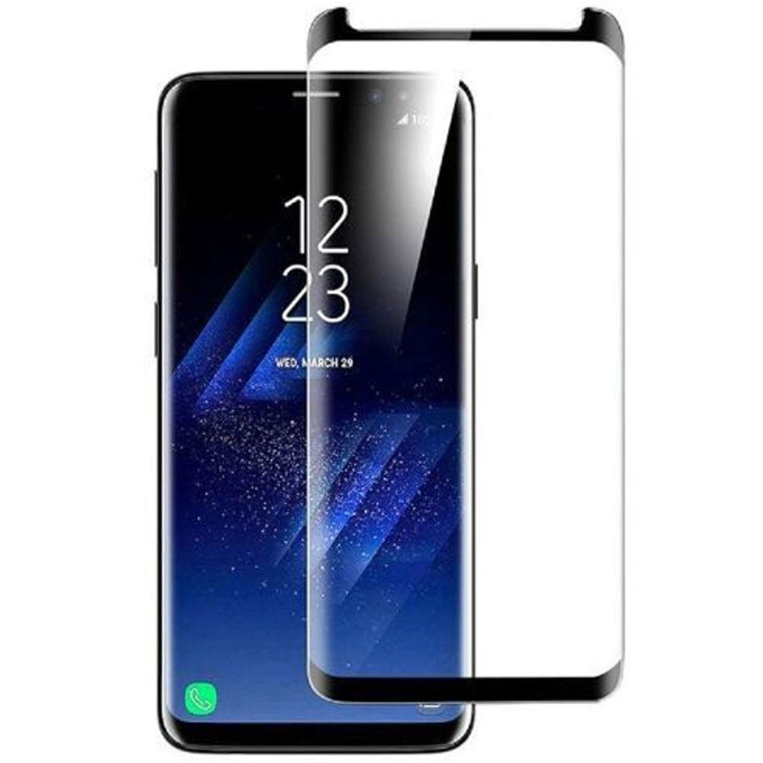 Película De Vidro Temperado Curva Samsung Galaxy S9 SM-G960