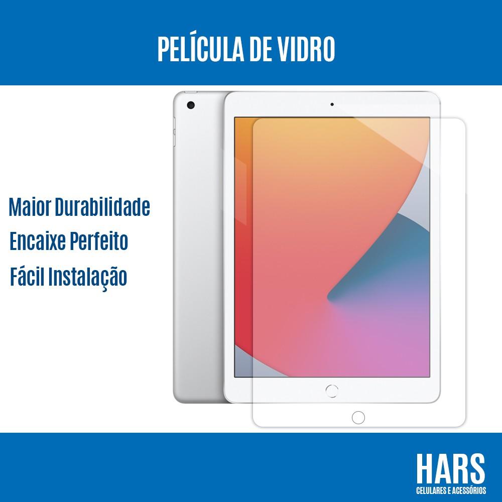 """Película de Vidro Temperado Premium iPad 8 (2020) 10.2"""" A2270 A2430"""
