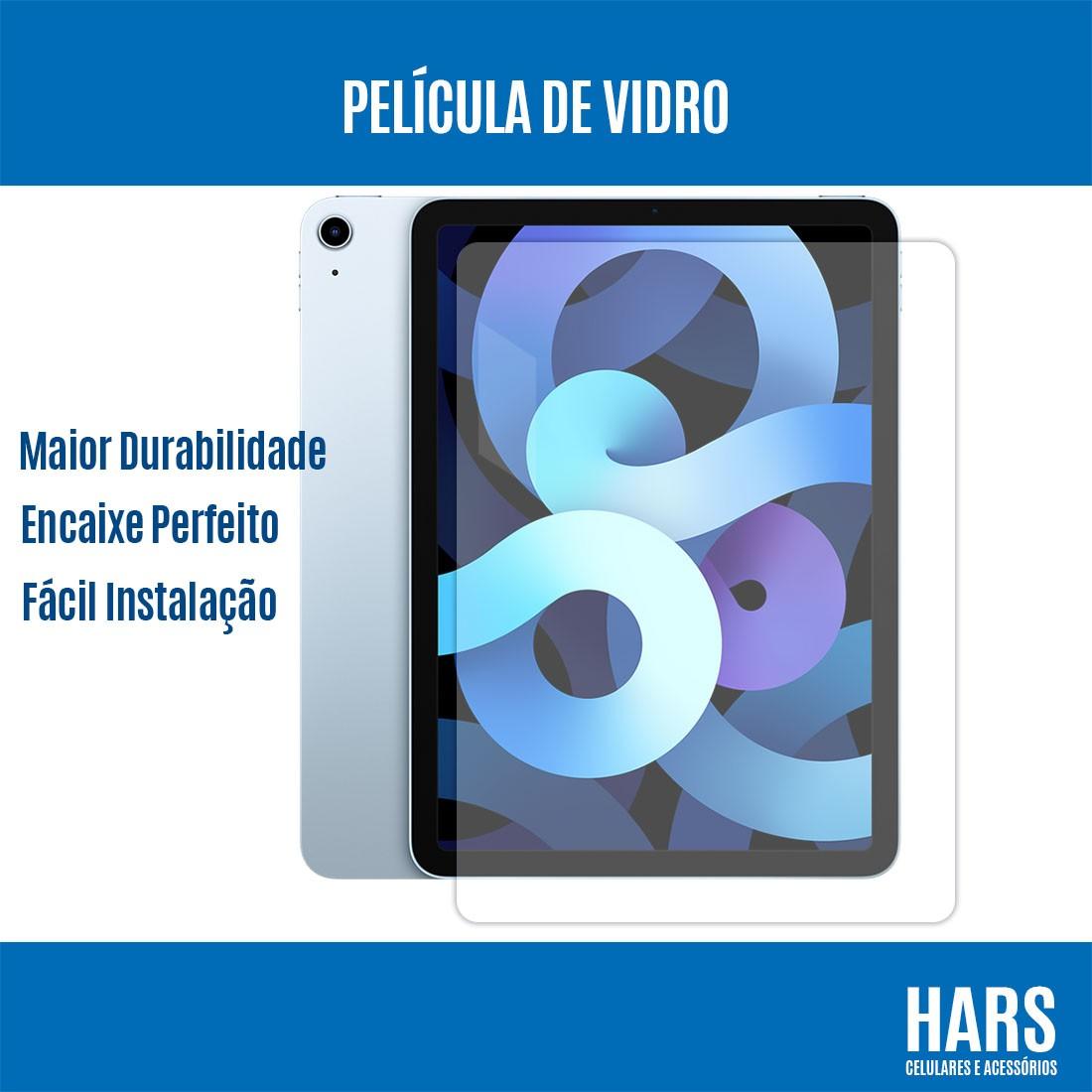 """Película de Vidro Temperado Premium iPad Air 4ªg (2020) 10.9"""" A2316 A2072"""