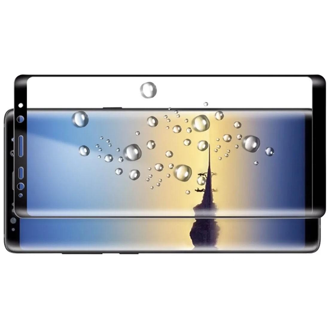 Película Para Galaxy Note 8 N950 De Gel Com Borda Preta