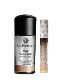 Ana Hickmann Kit Max Fabulous + Sombra Gel