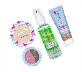 Be Aurora Kit Pele Make Vegan