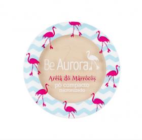 Be Aurora Pó Compacto Micronizado Areia do Marrocos Nude Claro Nº 01