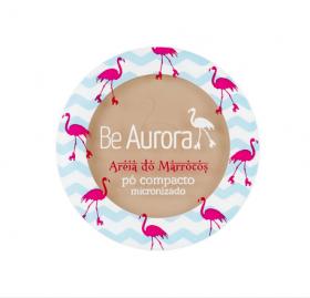 Be Aurora Pó Compacto Micronizado Areia do Marrocos Nude Escuro Nº03