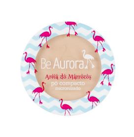 Be Aurora Pó Compacto Micronizado Areia do Marrocos Nude Médio Nº02