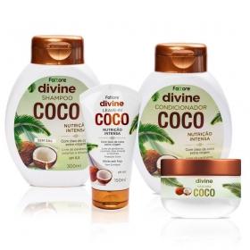 Fattore Kit Coleção Capilar Divine Coco