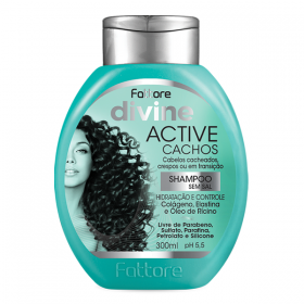 Fattore Shampoo Active Cachos Divine 300ml