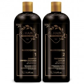 G.Hair KIT Escova Marroquina 1L