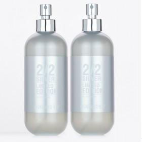 Kit 2 Perfumes 2/2 240ml Silver + Brinde Especial