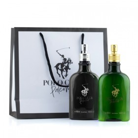 Kit Polo Club Palermo Green 180ml & Polo Club Palermo Black 180ml