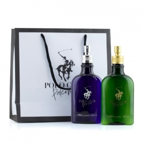 Kit Polo Club Palermo Green 180ml & Polo Club Palermo Blue 180ml