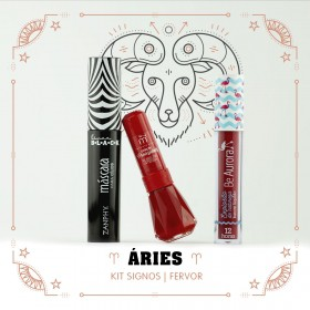 Kit Signos do Zodiaco Áries Fervor