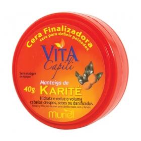 Muriel Cera Capilar Condicionante Manteiga de Karite 40g