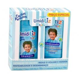 Muriel Kit Umidiliz Baby Menino Shampoo e Condicionador 150ml