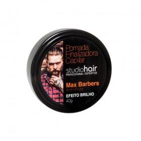 Muriel Pomada Finalizadora Capilar Studio Hair Max Barbers Efeito Brilho 40g