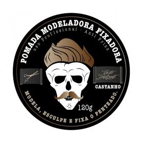 Muriel Pomada Modeladora Studio Hair Efeito Tonalizante Castanho 120g