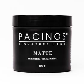 Pacinos Signature Line Pomada Capilar Matte Sem Brilho / Fixação Média 150g