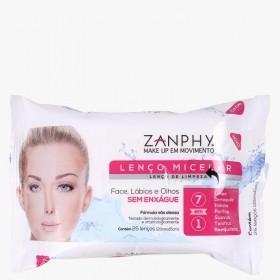 Zanphy Lenço Micelar 25 unidades