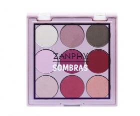 Zanphy Paleta de Sombras Noneto 9 Cores Nº01