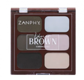 Zanphy Paleta para Sobrancelhas Liner Brown Nº01
