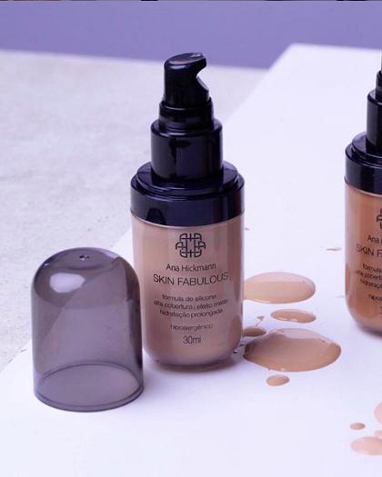 Ana Hickmann Base Skin Fabulous 35ml Escuro Nº02
