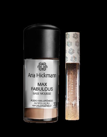 Ana Hickmann Kit Max Fabulous + Sombra Gel