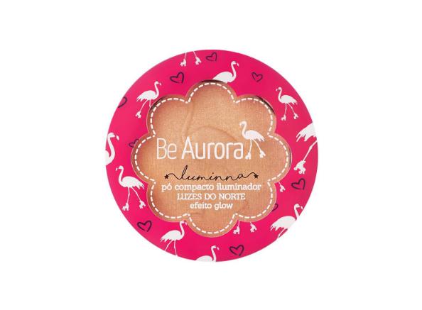 Be Aurora Pó Compacto Iluminador Luzes do Norte Luz Bronzer Nº 03
