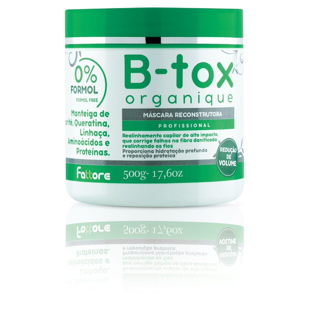 Fattore B-Tox Máscara B-Tox Organique 500ml