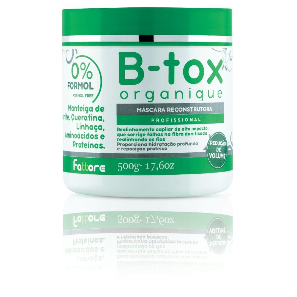 Fattore B-Tox Máscara B-Tox Organique 500ml