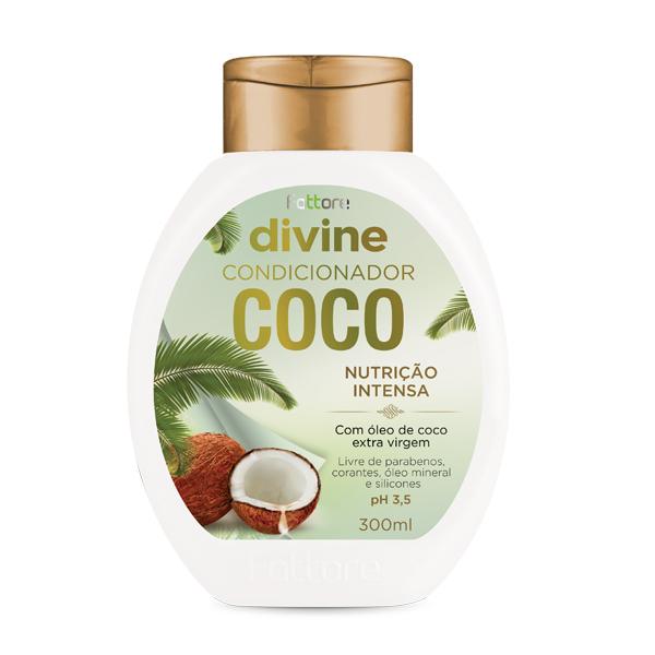 Fattore Condicionador Divine Coco 300ml