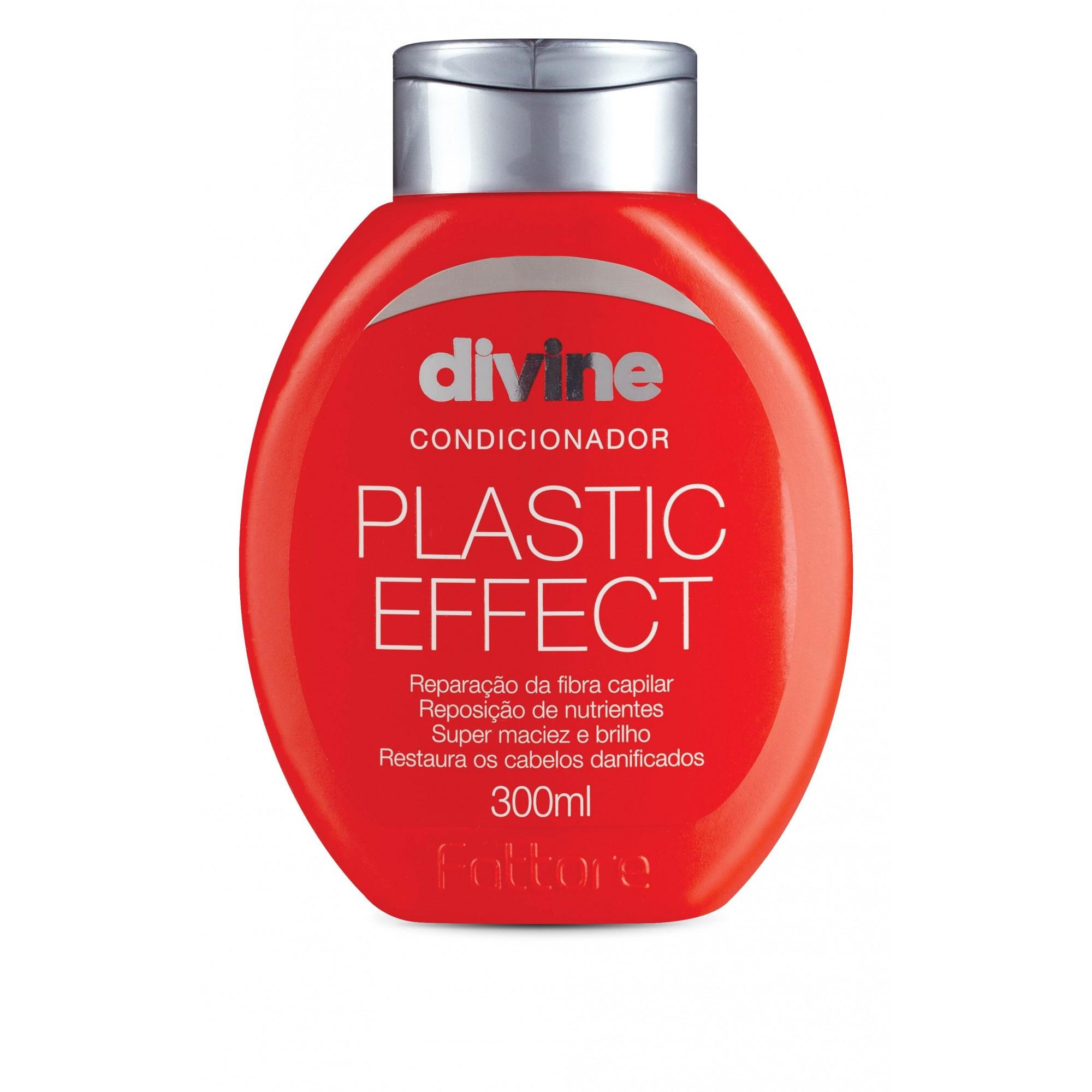 Fattore Condicionador Divine Plastic Effect 300ml