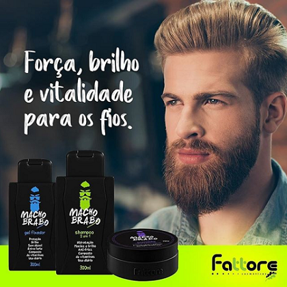 Fattore Gel Fixador Macho Brabo 300 ml