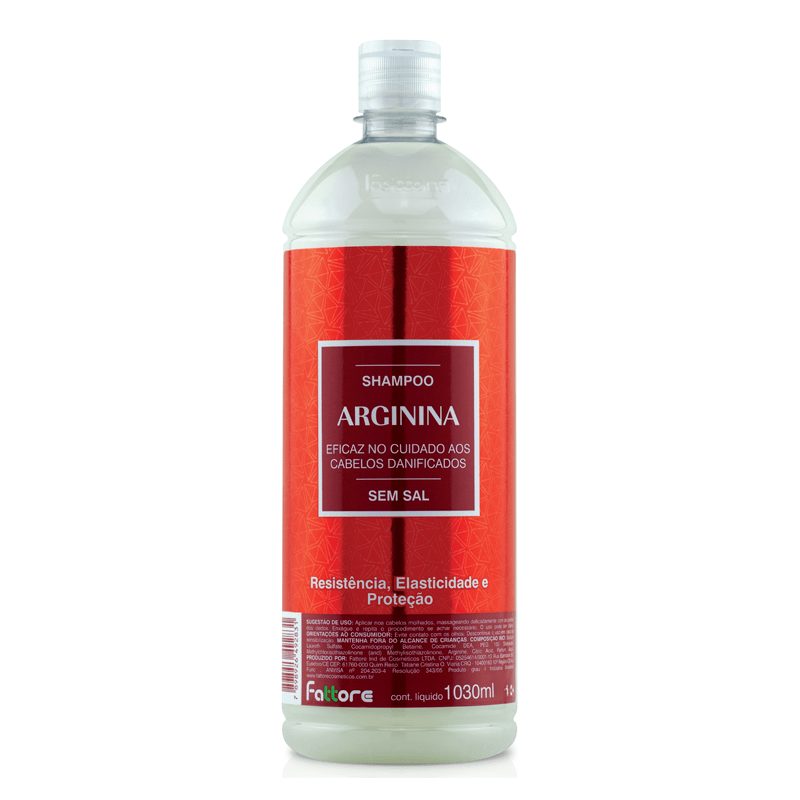 Fattore Lavatório Shampoo Arginina 1,030L