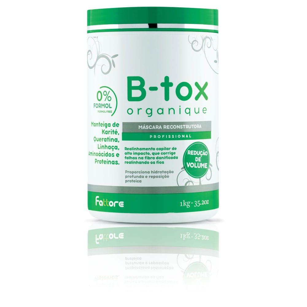 Fattore Máscara Reconstrutora B-Tox Organique 1Kg
